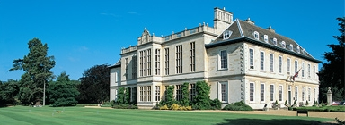 Stapleford Park, luxury country house hotel and scene of the Timico 2009 customer conference