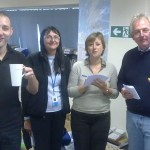 Lemon Drizzle Cake Competition Judges