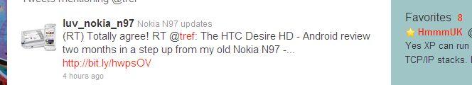 twitter screenshot from @tref showing careless retweet