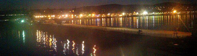 harbour lights in Douglas IoM