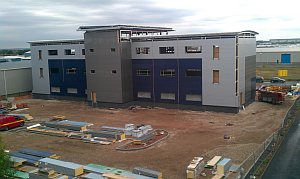 photo of Timico datacentre build using HTC Desire HD