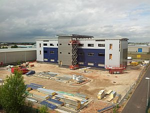 photo of Timico datacentre build using Samsung Galaxy S2