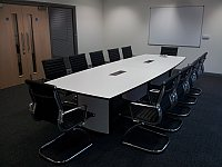 the new boardroom at Timico in Newark