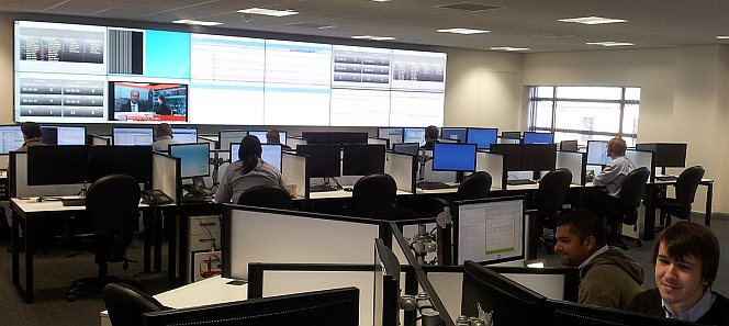 the new Timico Network Operations Centre in Newark has gone live