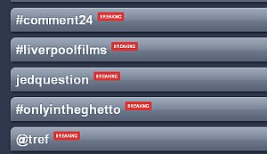@tref & #comment24 trending in the UK