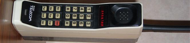 early British Telecom handset - smart phones for smart people :)