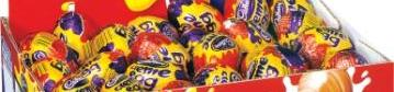 Creme Egg photos courtesy of Cadbury - yum yum