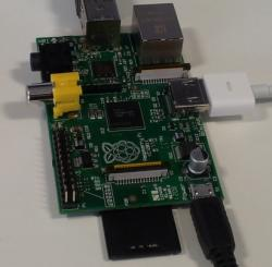 Raspberry Pi fresh out of the box