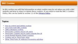 "BBC cookies ""information"""
