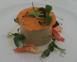 delicious gourmet food on offer at the Celtic Manor 2010 course