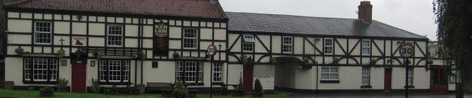 The Red Lion Inn in Redbourne Lincolnshire has a fire station