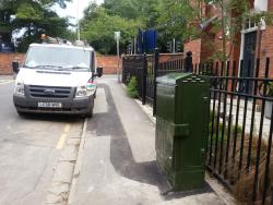 BT FTTC cabinet 10 in Lincoln