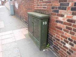 the old GPO cabinet 10 in Lincoln