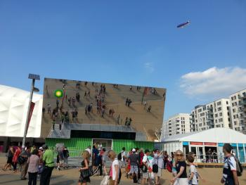 BP house at the Olympic Park