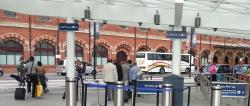 no queues at the taxi rank in Kings Cross Station