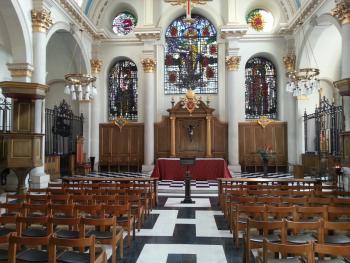 St Mary Le Bow - a fine Wren church