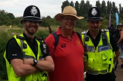 friendly cops at Lee Valley
