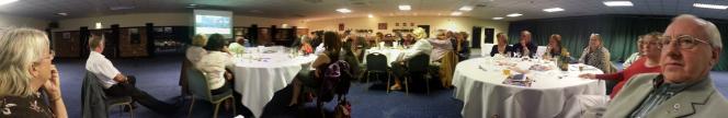 Newark Castle Rotary club dinner