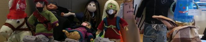 The nativity scene in the Timico finance dept