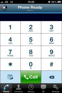 Timico VoIP phone app for iPhone available from Apple App Store 3