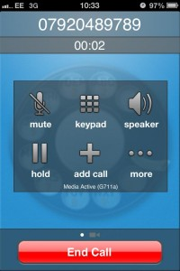Timico VoIP phone app for iPhone available from Apple App Store 5