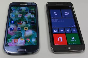 Samsung Windows8 and Android phones