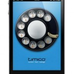 Timico VoIP phone app for iPhone available from Apple App Store
