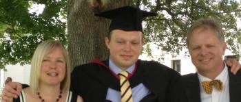 tom graduation