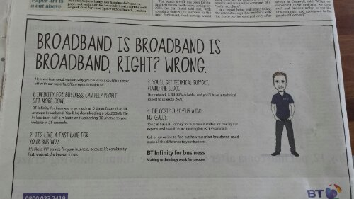 broadband speed terminology faux pas
