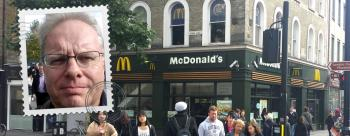 4G speed testing at McDonalds KingsX