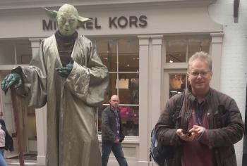 Yoda in Covent Garden