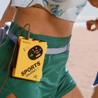 Running with a walkman
