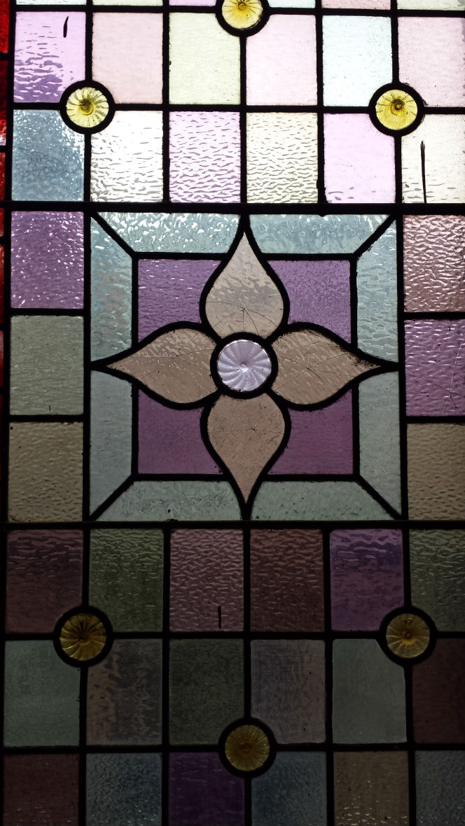 stained glass at Salem church datacentre Leeds