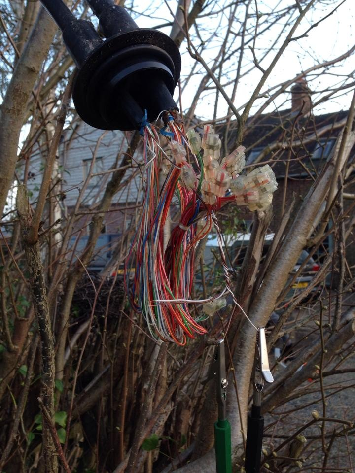 BT copper connections