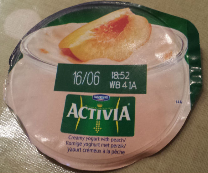 activa yoghurt sell by date