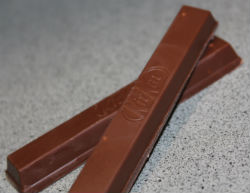 crossed kitkat