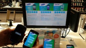 tesco mobile POS display