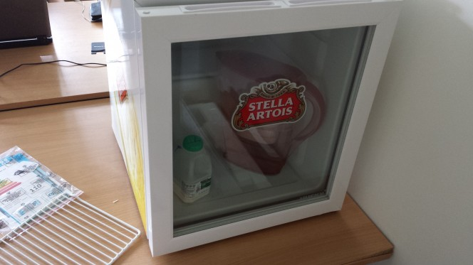 Husky Stella Artois Refrigerator