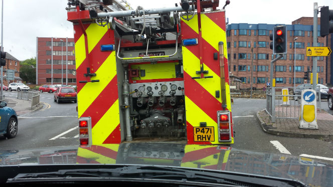 fire engine in Lincoln