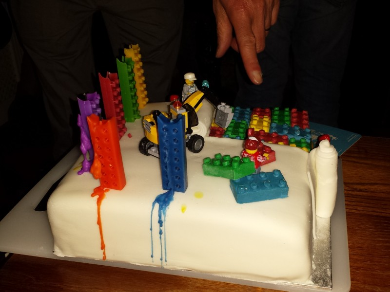 Lego Birthday Cake Tesco