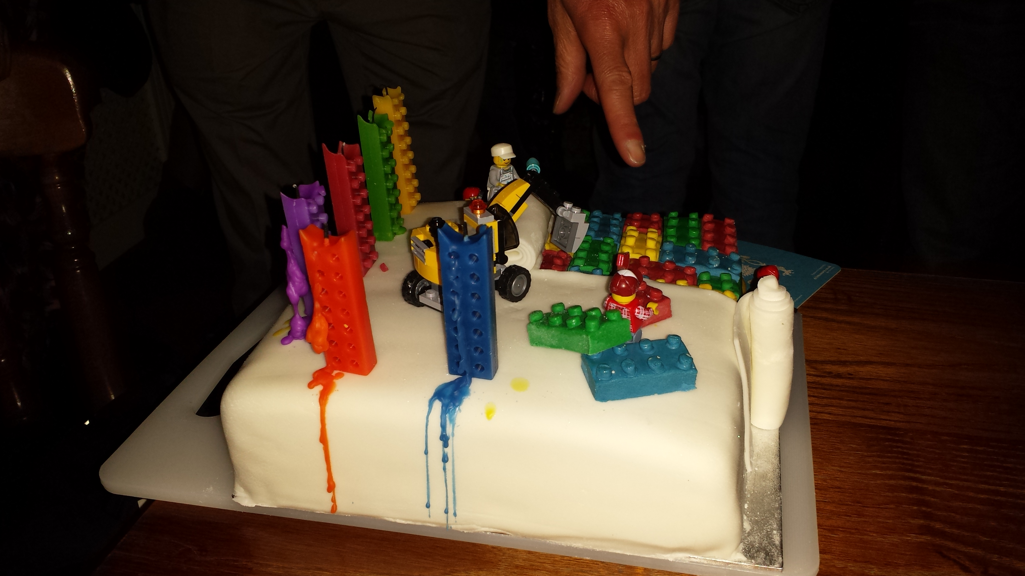 Lego Birthday Cake For A 60 Year Old