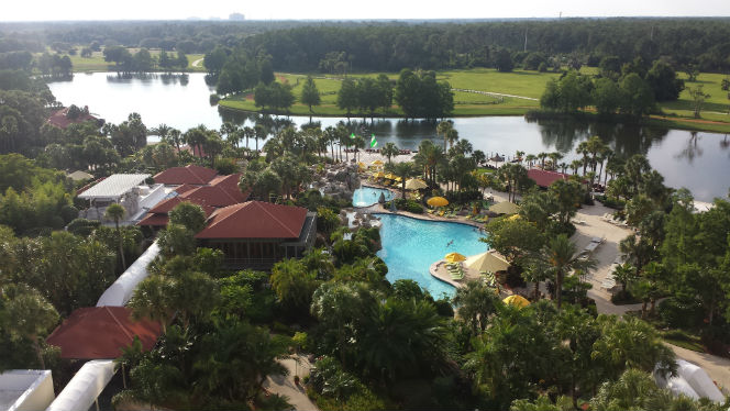 view from room Hyatt Regency Grand Cedar Orlando