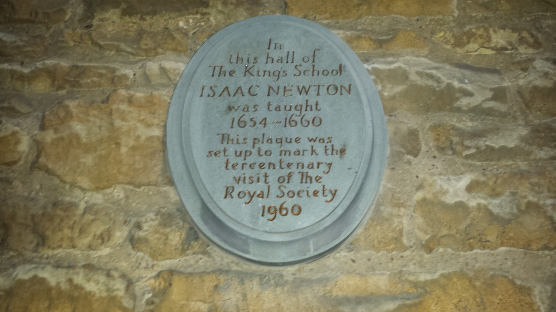 isaac newton and superfast broadband in grantham