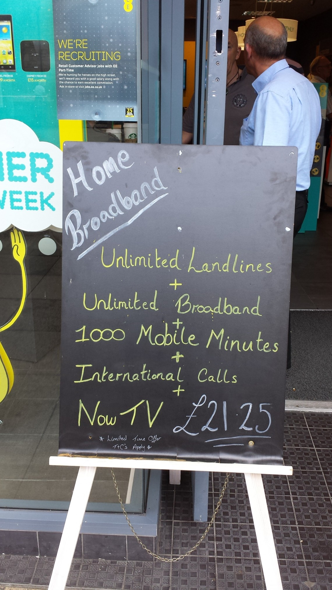home broadband deals from EE