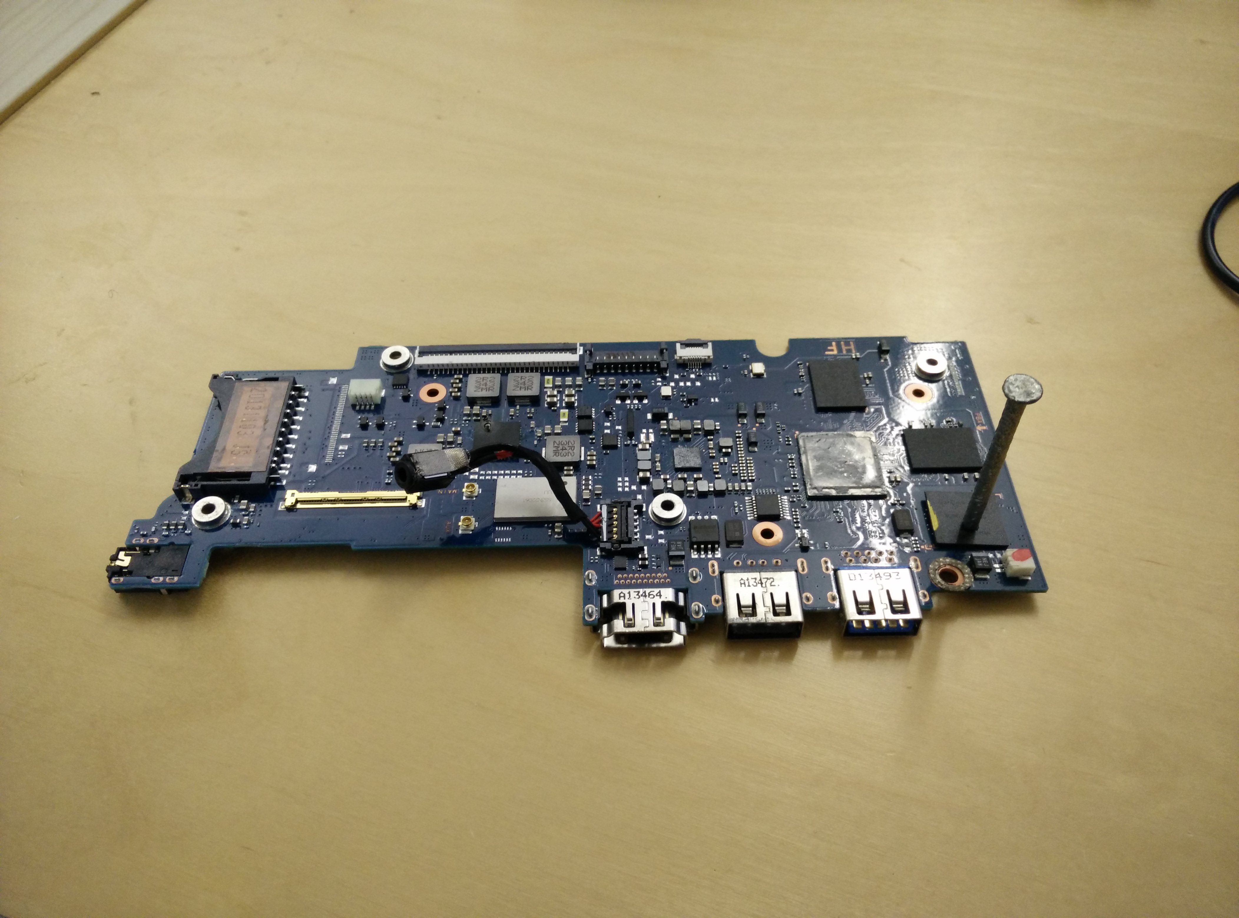 dead chromebook motherboard