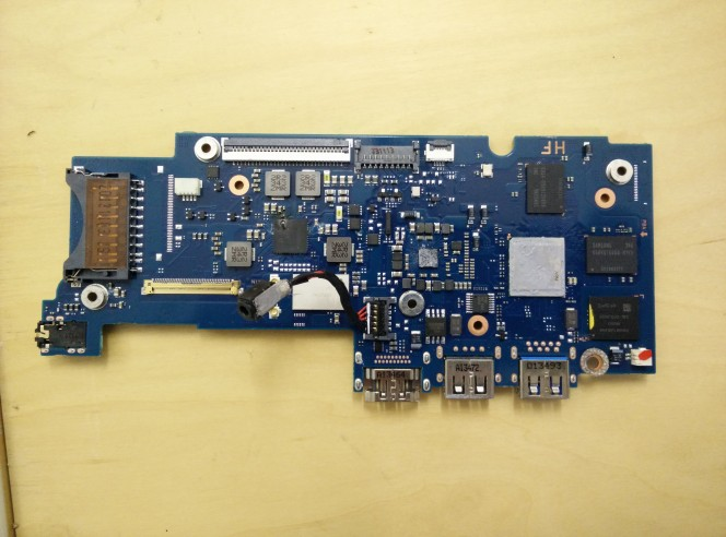 chromebook motherboard
