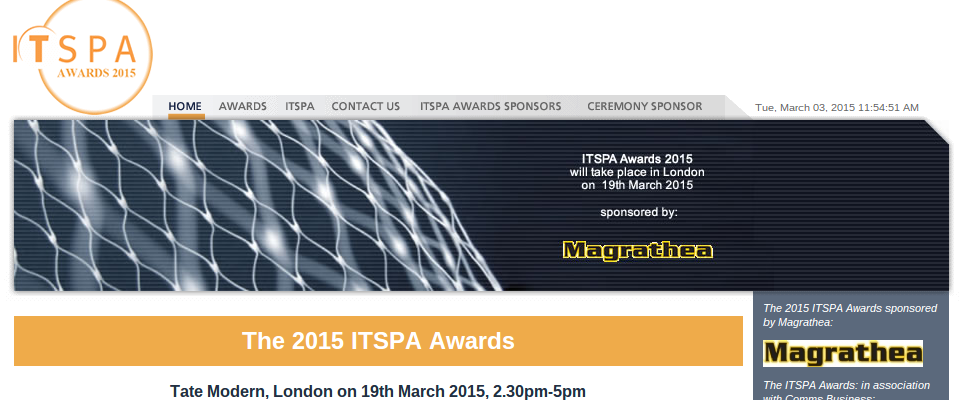 itspa awards 2015