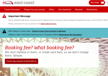virgin east coast website