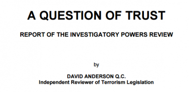 Anderson Report on Terrorism Legislation