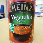 Heinz vegetable soup
